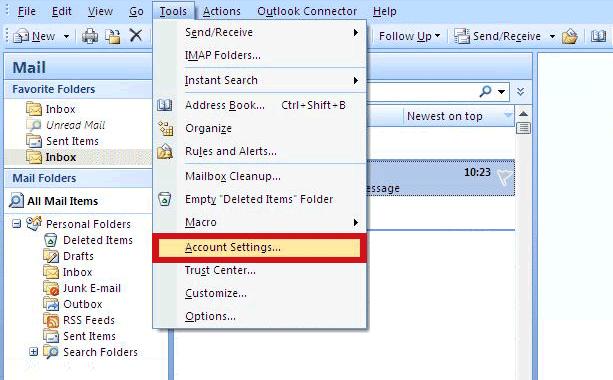 Outlook Macro Delete Email From Folder